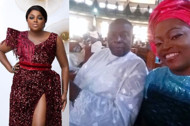 Funke Akindele-Bello confirms death of her father