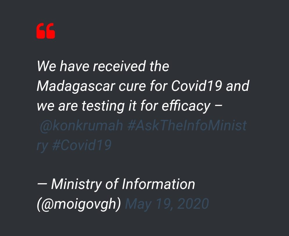 'WHO commends Madagascar's fight against COVID-19'