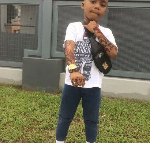6-Year-Old Boy With Tattoos All Over Causes Stir On The Media - Photos